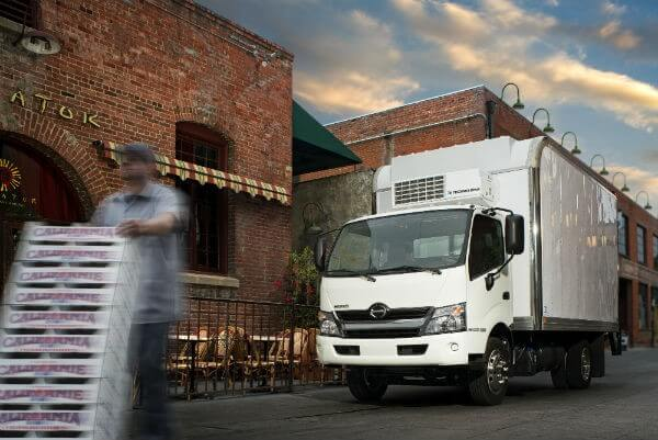 reefer truck - refrigerator truck